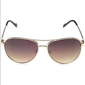 Jessica Simpson Metal Aviator Sunglasses